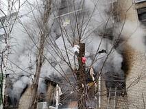 Последствия взрыва газа в Саратове