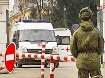 Скорая помощь на территории военной части