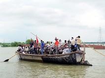 Лодка в Индии