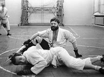 Андрей Ростоцкий на тренировке