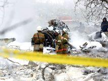 Поисковая операция на месте крушения Boeing под Бишкеком