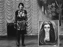 """Джуна передает в дар Агентству печати """"Новости"""" свою картину"""