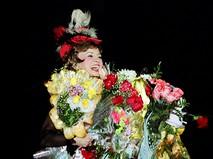 Татьяна Шмыга после спектакля