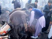 Пострадавший при взрыве на рынке в Пакистане