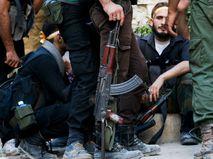 Бойцы сирийской вооруженной оппозиции