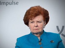 Экс-президент Латвии Вайра Вике-Фрейберга