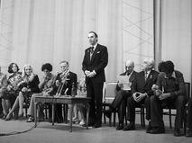 Алексей Баталов на неделе советско-итальянской дружбы в Москве