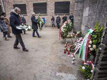 """Акция в память о жертвах Холокоста на территории лагеря """"Освенцим"""""""