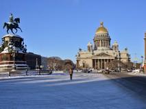 Исаакиевская площадь в Санкт-Петербурге