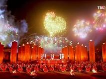 В Китае отмечают Новый год Огненного Петуха