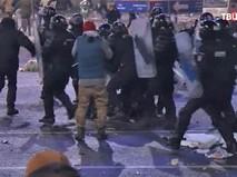 Митинг в Румынии