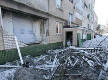 Результат обстрела Донецка