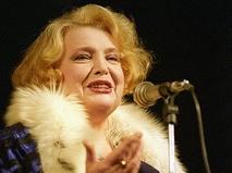 Татьяна Доронина на сцене Большого драматическиого театра имени Г.А. Товстоногова