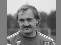 Голкипер сборной команды СССР по футболу Виктор Чанов