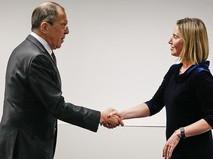 Сергей Лавров и Федерика Могерини