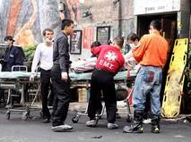 Скорая помощь Тайваня на месте происшествия
