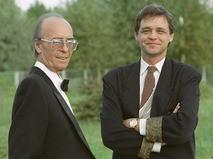 Олег Борисов с сыном, кинорежиссёром Юрием Борисовым