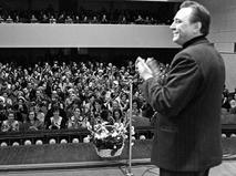Евгений Матвеев на встрече с московскими зрителями