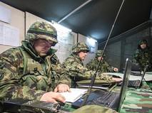 Военные за компьютерами