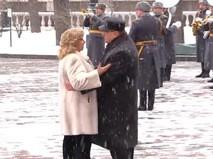 Танец Владимира Жириновского и Татьяны Москальковой