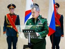 Министр обороны России Сергей Шойгу