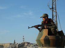 Турецкий военный в Сирии