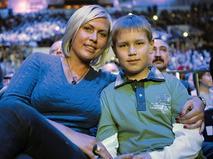 Наталья Рагозина с сыном Иваном
