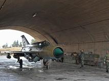 Самолет МиГ-21 сирийских ВВС
