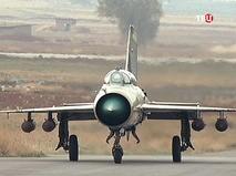 Истребитель МиГ-21 ВВС Сирии