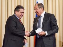 Сергей Лавров и Зигмар Габриэль
