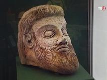 Фрагмент скульптуры, найденной в Керченской бухте