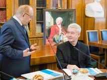 Сергей Собянин и Виктор Садовничий