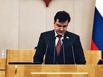 Депутат Госдумы РФ Денис Москвин
