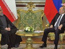 Владимир Путин и Хасан Роухани в Кремле