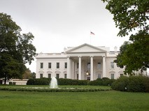 США, Вашингтон. Северный фасад Белого дома