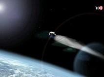 Комета на орбите Земли