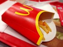 Еда в Макдональдсе