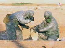 Во время разминирования боеприпаса