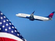Самолет Boeing-737 авиакомпании Delta Airlines