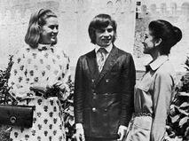 Рудольф Нуреев с актрисой Грейс Келли и балериной Марго Фонтейн