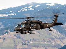 Вертолет Sikorsky UH-60 ВВС США