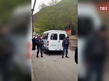 Сидовики на месте происшествия в Дагестане