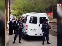 На месте ЧП в Дагестане