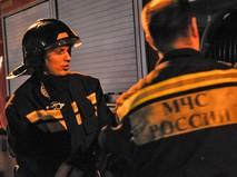 Спасатели МЧС на месте ЧП