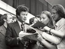 Леонид Быков на Московском Международном кинофестивале. 1970-е