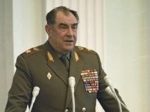Дмитрий Язов, министр обороны СССР