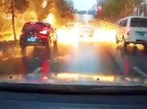 Огненный дождь в Китае