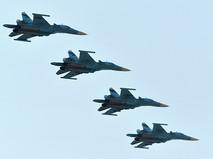 Самолеты Су-34 ВКС России