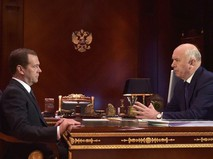 Дмитрий Медведев и Николай Меркушкин