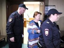 """Бывший главный бухгалтер театральной труппы """"Седьмая студия"""" Нина Масляева в суде"""